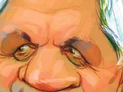 کاریکاتور/ امیر حاج رضایی و لمپنها!