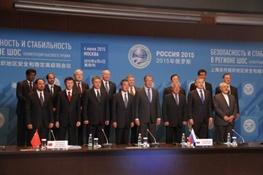 سازمان همکاری شانگهای,ایران و روسیه