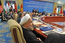حسن روحانی,سازمان همکاری شانگهای