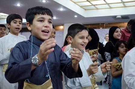 """""""گرگیعان"""" رسم زیبای عرب های ایران که از فراموشی نجات یافت"""