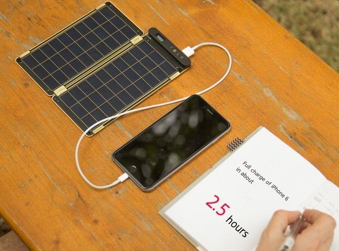 نازکترین و سبکترین شارژر خورشیدی جهان در دستان شما
