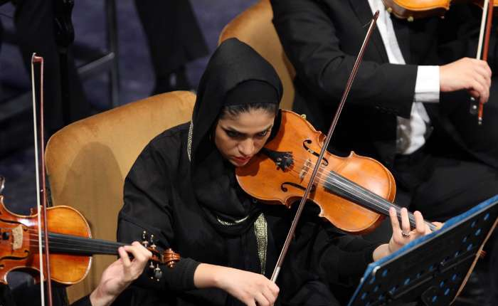 تصاویری از ارکستر سمفونیک تهران