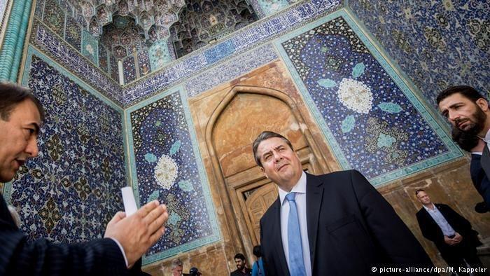 پروفسور سمیعی و معاون صدراعظم آلمان در اصفهان