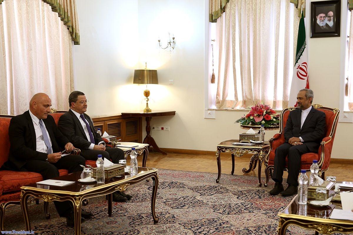 نهاوندیان در دیدار قائم مقام وزیر خارجه سوئیس: ایران آماده روابط برد ـ برد اقتصادی با جهان است
