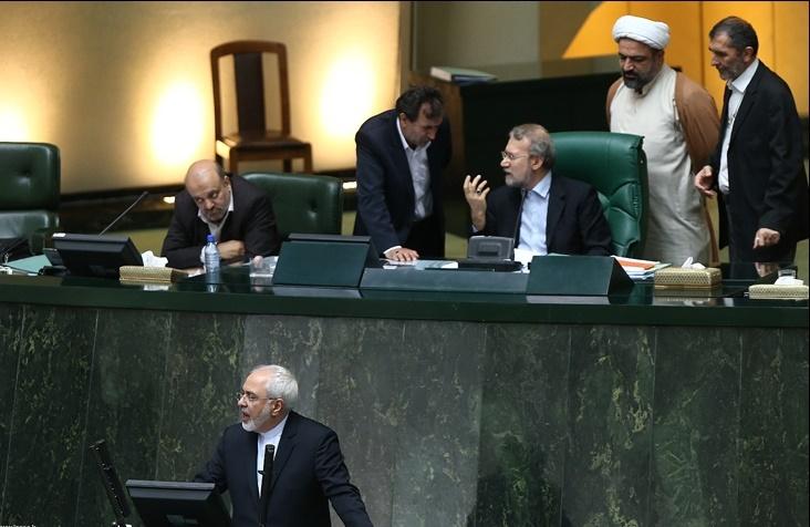 محمدجواد ظریف,مجلس نهم,طنز