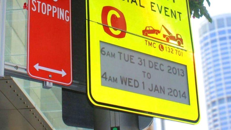 تجهیز علائم راهنمایی و رانندگی در استرالیا به جوهر الکترونیکی/ عکس