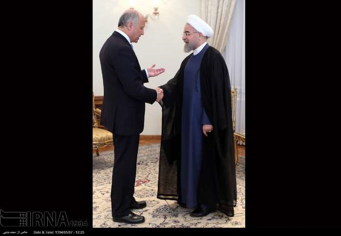 ایران و فرانسه,حسن روحانی
