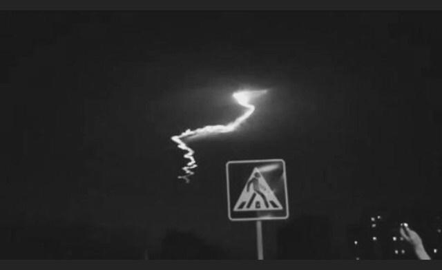 تصاویر سقوط شهاب سنگ در استان البرز