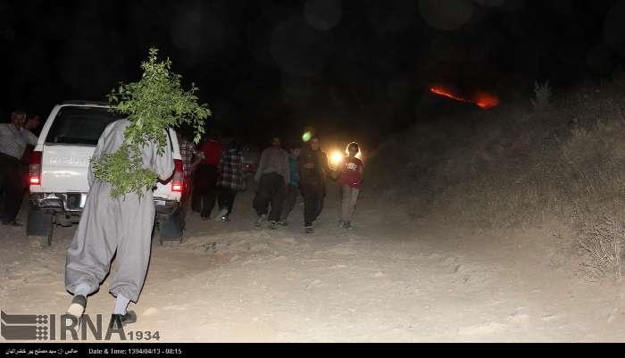 از آبیدر تا کلاردشت؛ آتش هایی که در یک ماه اخیر به جان جنگل های ایران افتاد
