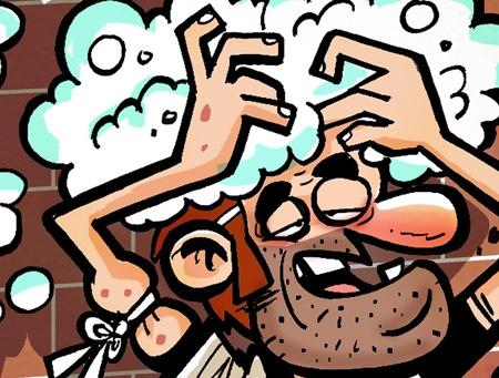 کاریکاتور/ شامپو تریاک!