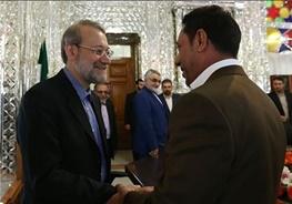 علی لاریجانی,عراق