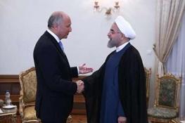 توافق هسته ای ایران و پنج بعلاوه یک,لوران فابیوس,حسن روحانی