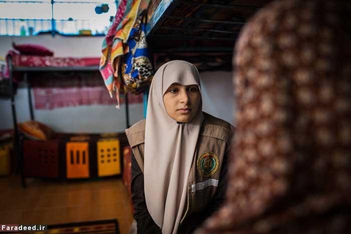 تصاویری از تنها زندان زنان در غزه