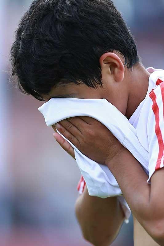اشکهای بچههای کیا وقتی به نایب قهرمانی راضی نبودند
