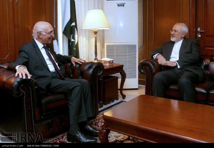 محمدجواد ظریف,ایران و پاکستان