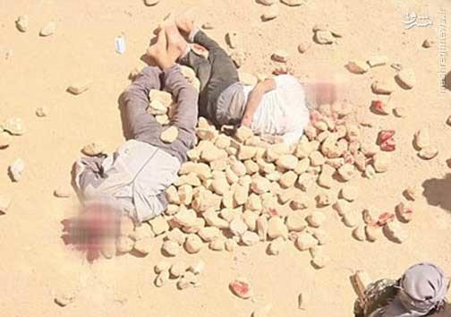 شیوه جدید داعش برای اعدام/ عکس