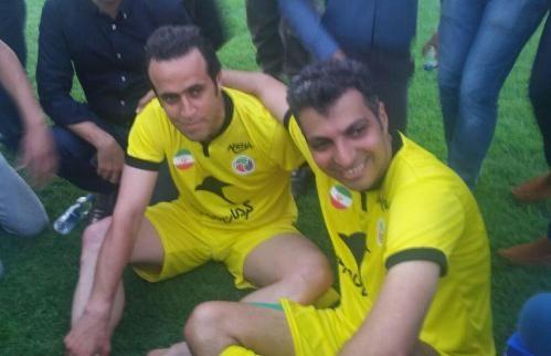وقتی فردوسی پور از دیدن تصاویر ستاره های فوتبال دنیا ترسید