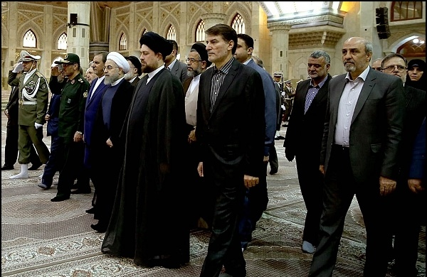 حسن روحانی,سید حسن خمینی,امام خمینی ره