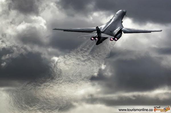 تصاویری کمتر دیدهشده از پرواز هواپیماها