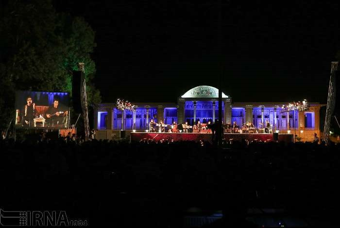 کنسرت شهرام و حافظ ناظری در شیراز