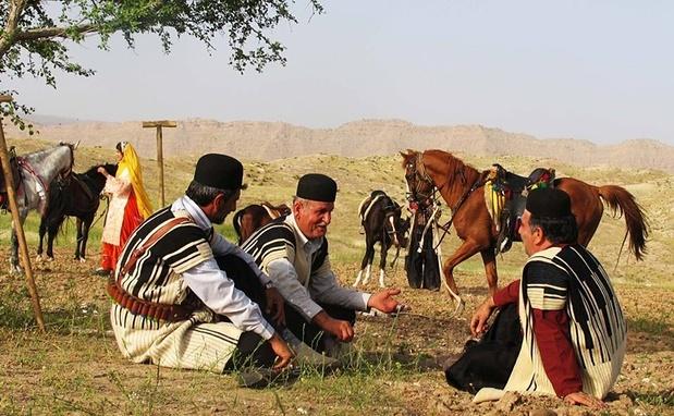 اسب سواری با عشایر