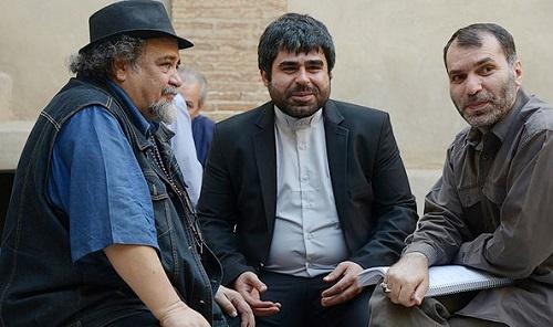 عکسهایی از اکبر عبدی، محمدرضا شریفینیا و ... در پشت صحنه «رسوایی دو»