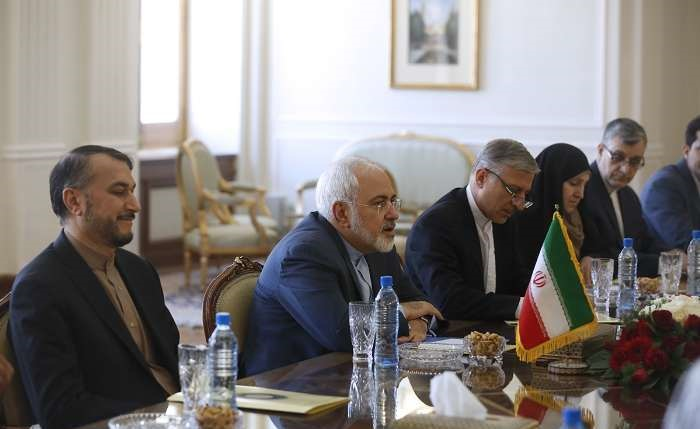 دیدار وزرای امور خارجه ایران و سوریه