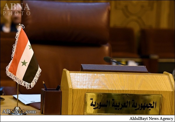 تصاویری از نشست اتحادیه عرب و جای خالی سوریه