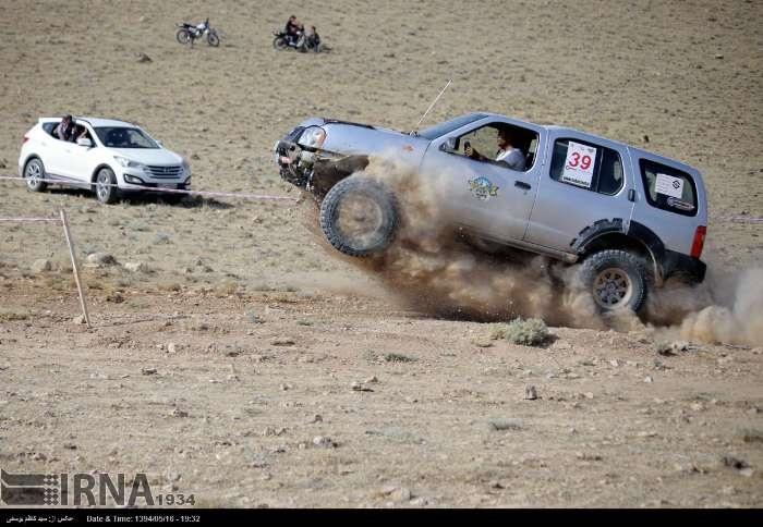 تصاویری از رقابت خودروهای دو دیفرانسیل