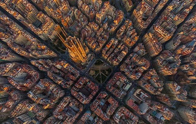 تصاویر هوایی از نقاط مختلف جهان