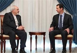 محمدجواد ظریف,ایران و سوریه,بشار اسد