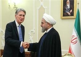 حسن روحانی,ایران و انگلیس