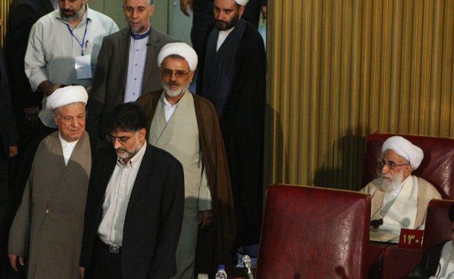 مجلس خبرگان,محمد یزدی,محمد تقی مصباح یزدی,اکبر هاشمی رفسنجانی