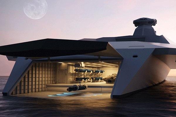کشتیهای جنگی در سال ۲۰۵۰ را ببینید