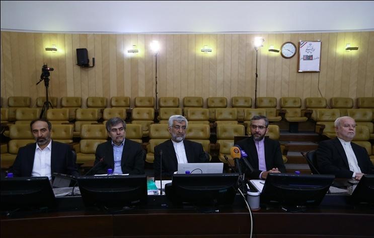 نظر شما درباره این عکس چیست؟/ سومین حضور تیم مذاکره کننده پیشین در کمیسیون برجام