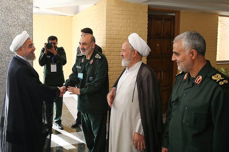 حسن روحانی,سپاه پاسداران