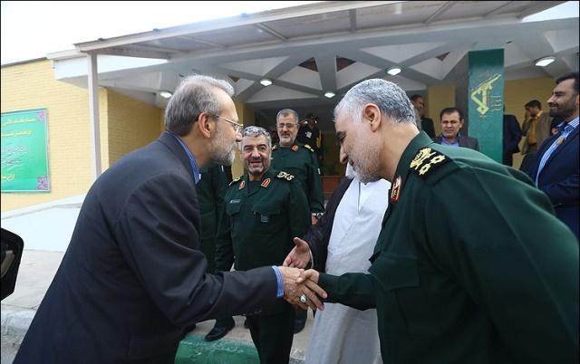 علی لاریجانی,سپاه پاسداران