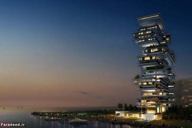 گرانترین آپارتمان جهان در دبی