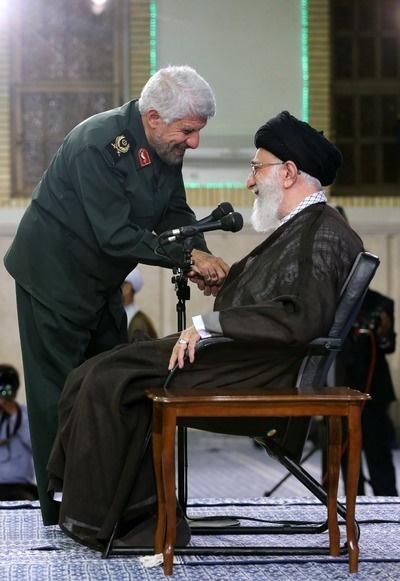 سپاه پاسداران,آیتالله خامنهای رهبر معظم انقلاب