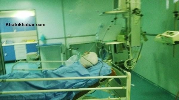 طلایی قصد داشت یکی از اعضای خانوادهاش را نجات دهد که سوخت/ تصویری از نائب رییس شورای شهر در بیمارستان