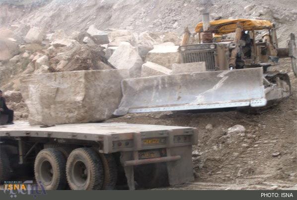 معادن سنگ بلای جان جنگلهای سفیدکوه در چگنی / آسیب های جدی به محیط زیست