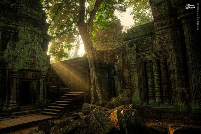 معبد شگفتانگیز انگکور