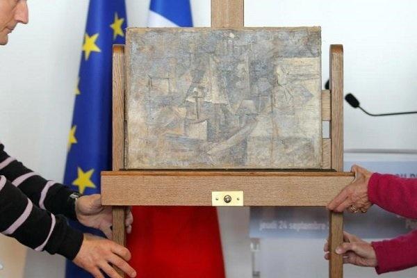 تابلوی ۱۵ میلیون دلاری دزیده شده پیکاسو به خانه بازگشت
