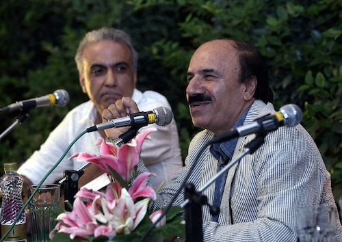 غیبت شهرام ناظری در مراسم رونمایی آلبوم جدیدش/ قومی که موسیقی ندارد زنده نیست