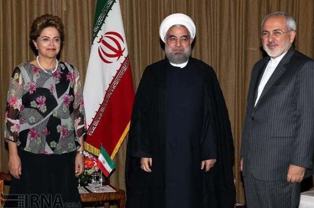 مهمانان دیروز روحانی در نیویورک
