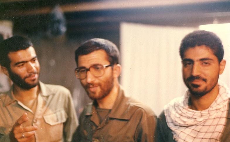 تصاویری از جوانی سردار قاسم سلیمانی درجبهه