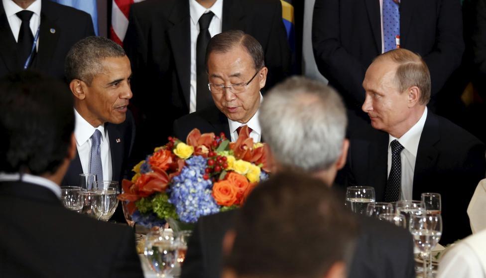 باراک اوباما,ولادیمیر پوتین