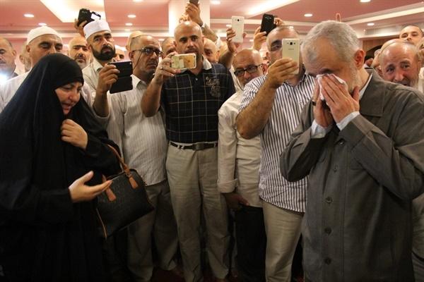 اشک و آه، برای همسفرانی که از کاروان جا ماندند/ برگزاری مراسم ترحیم کشته شدگان حادثه منا در مکه