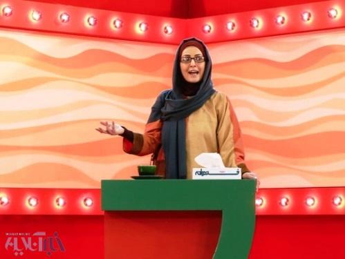 حرفهای شقایق دهقان و علی مسعودی پیش از آغاز مسابقه / مهمانان ویژهی کمدینها در استودیو «خندوانه»
