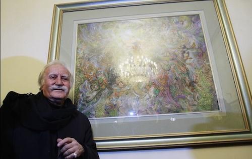 محمود فرشچیان: از مال دنیا فقط قبر احتکار کردهام/ عربها در حراجیها دنبال پول هستند نه هنر